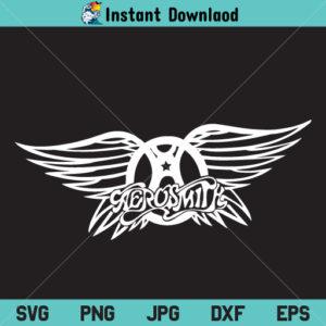 Aerosmith SVG, Aerosmith Band Logo SVG, Aerosmith PNG, Aerosmith DXF, Cricut, Cut File, Clipart, Silhouette