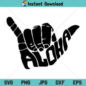 Aloha Shaka Hand SVG, Shaka Sign SVG, Aloha Hand SVG, Shaka Hand SVG, Aloha SVG, PNG, DXF, Cricut, Cut File, Clipart, Silhouette