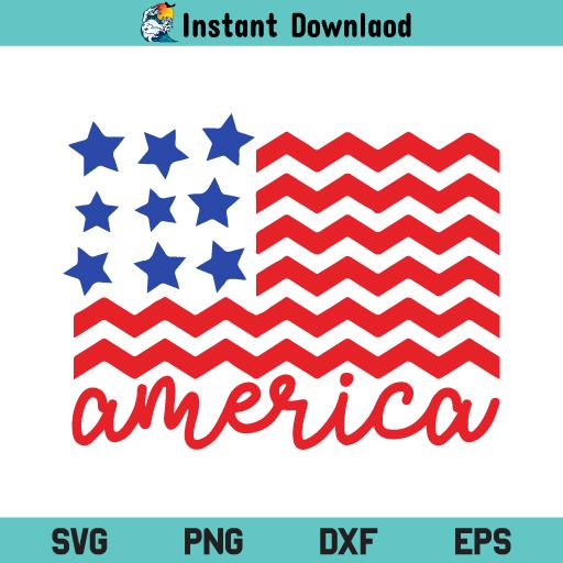 American Flag SVG, USA Flag SVG, US Flag SVG, Patriotic SVG, Independence Day SVG, American Flag, SVG, PNG, DXF, Cricut, Cut File