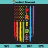 Gay Pride USA Flag SVG, Gay Pride American Flag SVG, Gay Pride Flag SVG, LGBT Pride SVG, LGBT Pride US Flag SVG, LGBT SVG, PNG, DXF, Cricut, Cut File