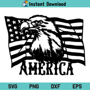 America Eagle Flag SVG, America Eagle Flag SVG File, Eagle America Flag SVG Design, Eagle Through Flag SVG, Eagle Flag SVG, 4th of July SVG, Freedom SVG, Patriotic SVG, PNG, DXF, Cricut, Cut File, Clipart, Silhouette