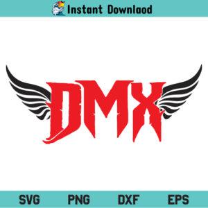 DMX Wings SVG, DMX Rapper Wings SVG, DMX SVG, Wings SVG, RIP DMX Wings SVG, DMX Rapper SVG, DMX Rest In Peace SVG, PNG, DXF, Cricut, Cut File