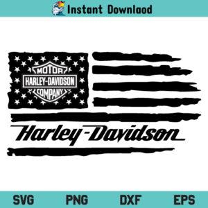 Harley Davidson US Flag SVG, Harley Davidson US Flag SVG File, Harley Davidson American Flag SVG, Harley Davidson US Distressed Flag SVG, Harley Davidson, US Flag, American Flag, Distressed Flag, SVG, PNG, Cricut, Cut File, Clipart