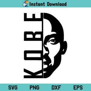 Kobe Bryant Basketball SVG, Kobe Bryant SVG, Kobe Bryant SVG File, Kobe Mamba Mentality SVG, Kobe Lakers SVG, Kobe Bryant PNG, Kobe Bryant DXF, Kobe Bryant, Cricut, Cut File, Clipart, Silhouette