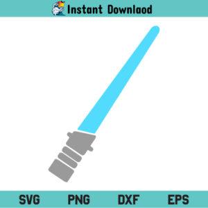 Lightsaber SVG, Lightsaber SVG File, Lightsaber SVG Design, Blue Lightsaber SVG, Light Saber SVG, LightSaber, SVG, PNG, DXF, Cricut, Cut File