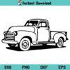 Pickup SVG, Pickup Truck SVG, Retro Pickup Truck SVG, Vintage Pick Up Truck SVG, Pick Up Truck SVG, Pickup SVG File, Pickup Truck SVG File, Retro, Vintage, Pickup, Truck, SVG, PNG, Cricut, Cut File