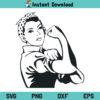 Rosie The Riveter SVG, Rosie The Riveter SVG File, Rosie The Riveter SVG Design, Rosie Riveter SVG, Rosie SVG, Woman Power SVG, Girl Power SVG, Rosie The Riveter, SVG, PNG, DXF, Cricut, Cut File