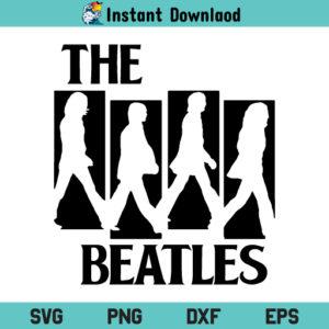 The Beatles Road SVG, The Beatles Road SVG File, The Beatles SVG, The Beatles Road Music Band SVG, Abbey Road Beatles SVG, PNG, DXF, Cricut, Cut File