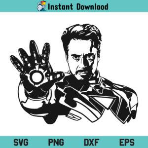 Tony Stark SVG, Tony Stark SVG File, Tony Stark SVG Design, Iron Man Tony Stark SVG, Iron Man SVG, Avengers SVG, Tony Stark, SVG, PNG, DXF, Cricut, Cut File