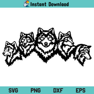 Wolf Head SVG File, Wolf Head SVG, Wolf Head SVG Design, Wolf SVG, Wolf SVG File, Wolves SVG, Wolves SVG File Design, Wolf Head, Wolf Face, Wolf, Wolves, SVG, PNG, DXF, Cricut, Cut File