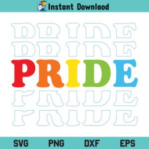 LGBT Pride SVG, LGBT Pride SVG Cut File, LGBT Pride SVG File, LGBT SVG, Pride SVG, Gay Pride SVG, Pride SVG Cut File, Gay Pride SVG, PNG, DXF, Cricut, Cut File