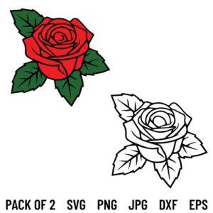 Rose SVG, Rose Bundle SVG, Rose Flower SVG, Flower SVG, Rose, SVG, PNG, DXF, Cricut, Cut File