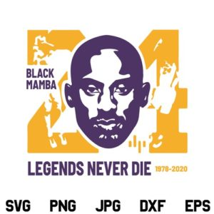Kobe Bryant SVG, Kobe Bryant Lakers SVG, Lakers SVG, Black Mamba SVG, Kobe Mamba SVG, Bryant 24 SVG, Kobe Bryant Los Angeles Lakers, SVG, PNG, DXF, Cricut, Cut File