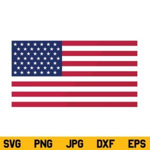 American Flag SVG, US Flag SVG, July 4th SVG, Independence Day SVG, Patriotic Flag, USA Flag SVG, Flag SVG, PNG, DXF, Cricut, Cut File