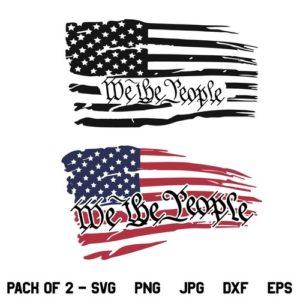 We The People US Flag SVG, American Flag SVG, Patriotic SVG, We The People SVG, 2nd Amendment SVG, 4th of July SVG, Freedom SVG, We The People, US, American, Distressed Flag SVG, PNG, DXF, Cricut, Cut File