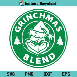 Starbucks Grinchmas Blend SVG, Starbucks Grinchmas SVG, Grinchmas Blend Coffee SVG, Grinch SVG, Starbucks SVG, Mr Grinch SVG, Grinch Coffee Lover
